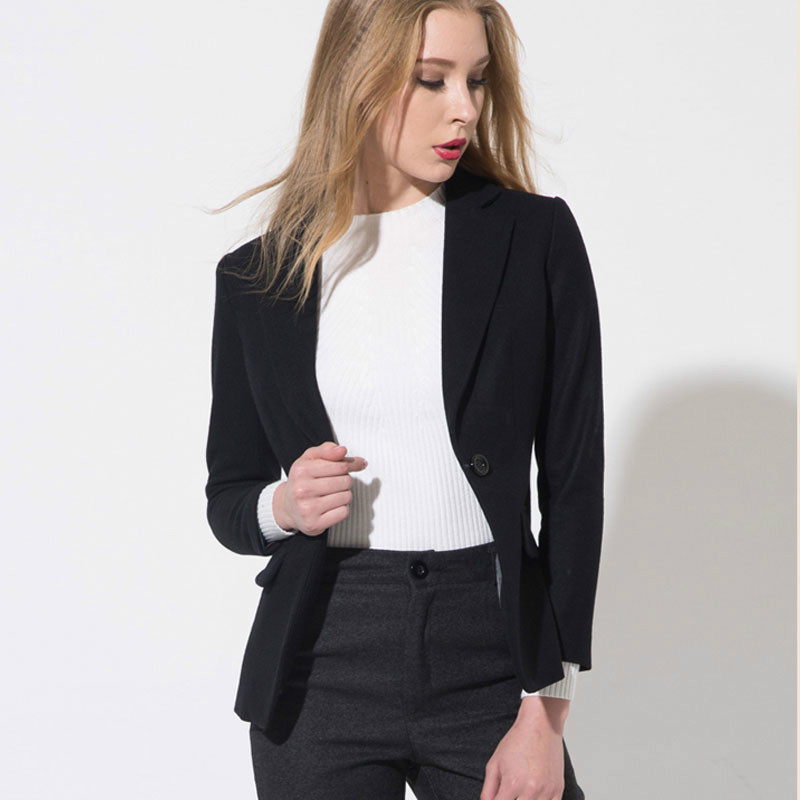 2016 fashion fomal winter office women jacket for wholesale