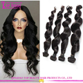 Grade 10a Loose Wave Human Hair Bundles 100 Remy Virgin European Hair Extensions
