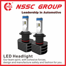 NSSC wide voltage factory price Best selling 5S h4 led headlight bulbs led headlight for bajaj 150cc pulsar motorcycle