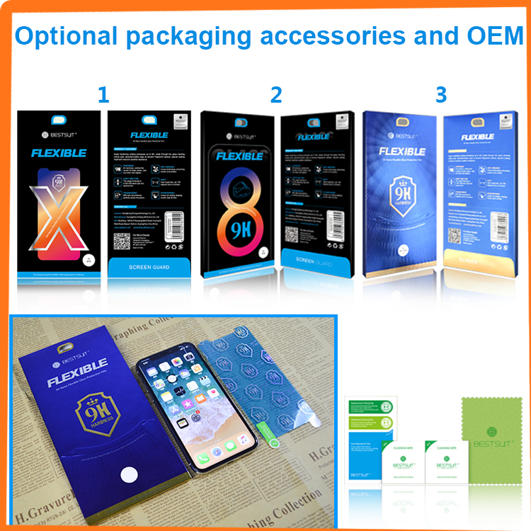 japan high quality 9h nano anti shock screen protector explosion proof film for iPhone X 8