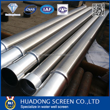 Low cost operation SS304 drill pipe thread type for water treatment