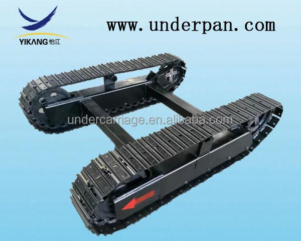 rubber track undercarriage for skid steer loader