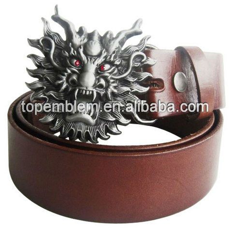 Wholesale custom 3D alloy metal belt buckle for men