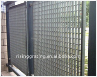 steel grating farm & pasture courtyard fence