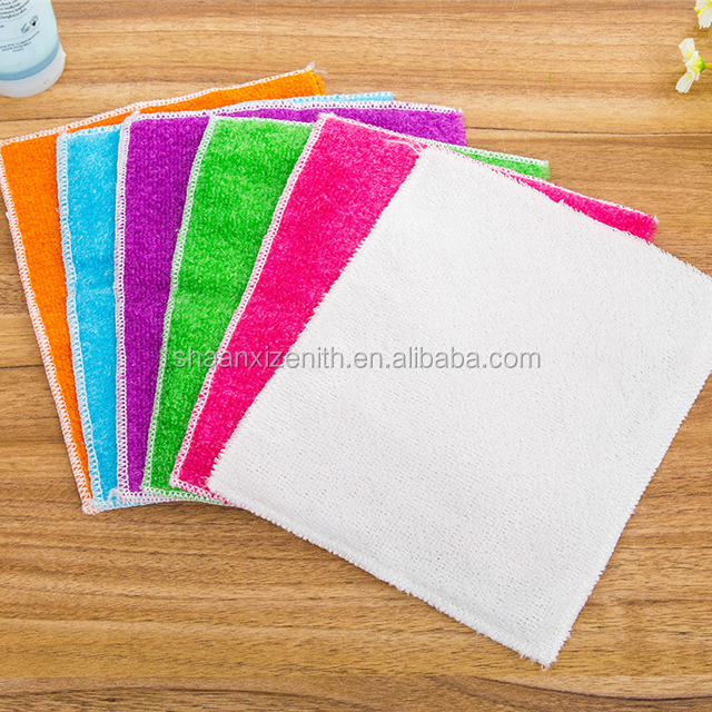 Wholesale Cheap Anti-Oil Super Absorbent Bamboo Kitchen Tea Towel Set