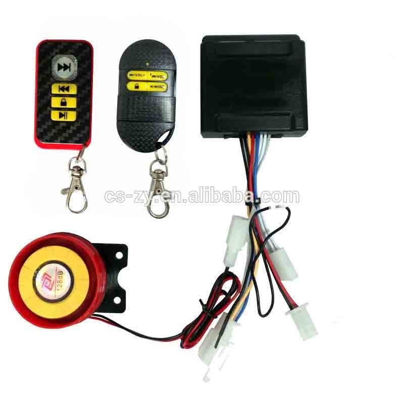 Fits 12-60V Voltage Remote Start Stop Electric Bike Alarm