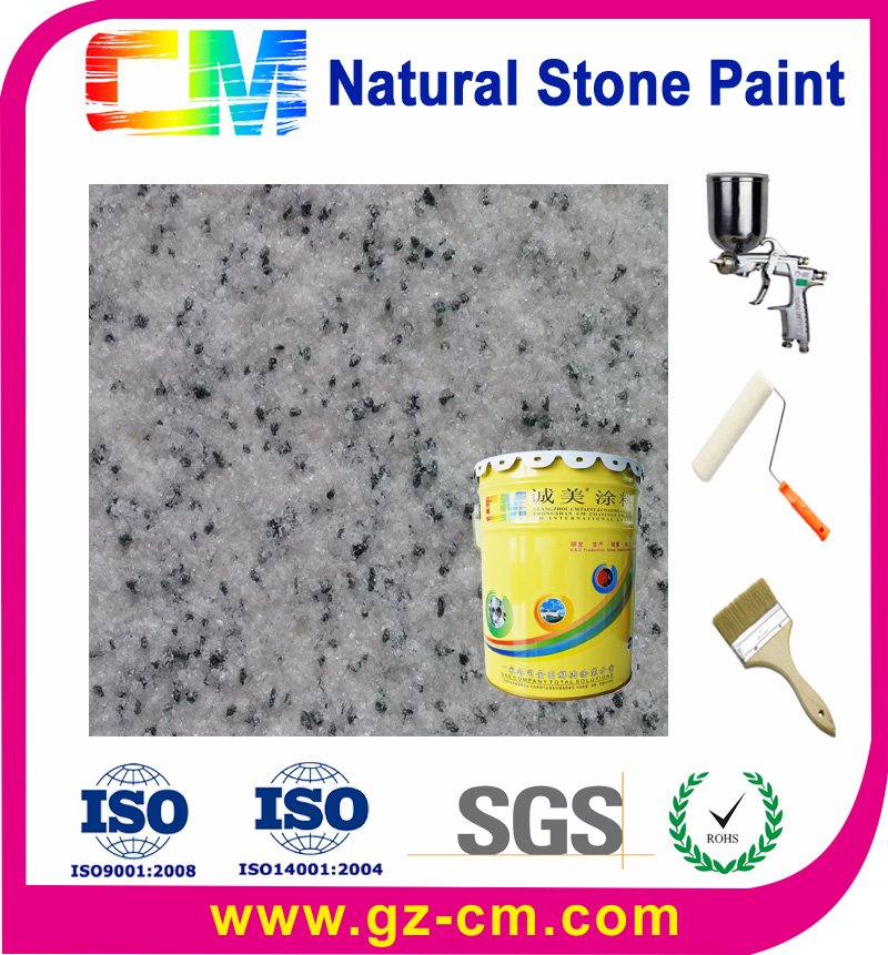 indoor decoration waterproof interior wall stone paint