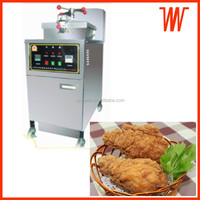 Electronic Gas heating Pressure Fish Frying Equipment