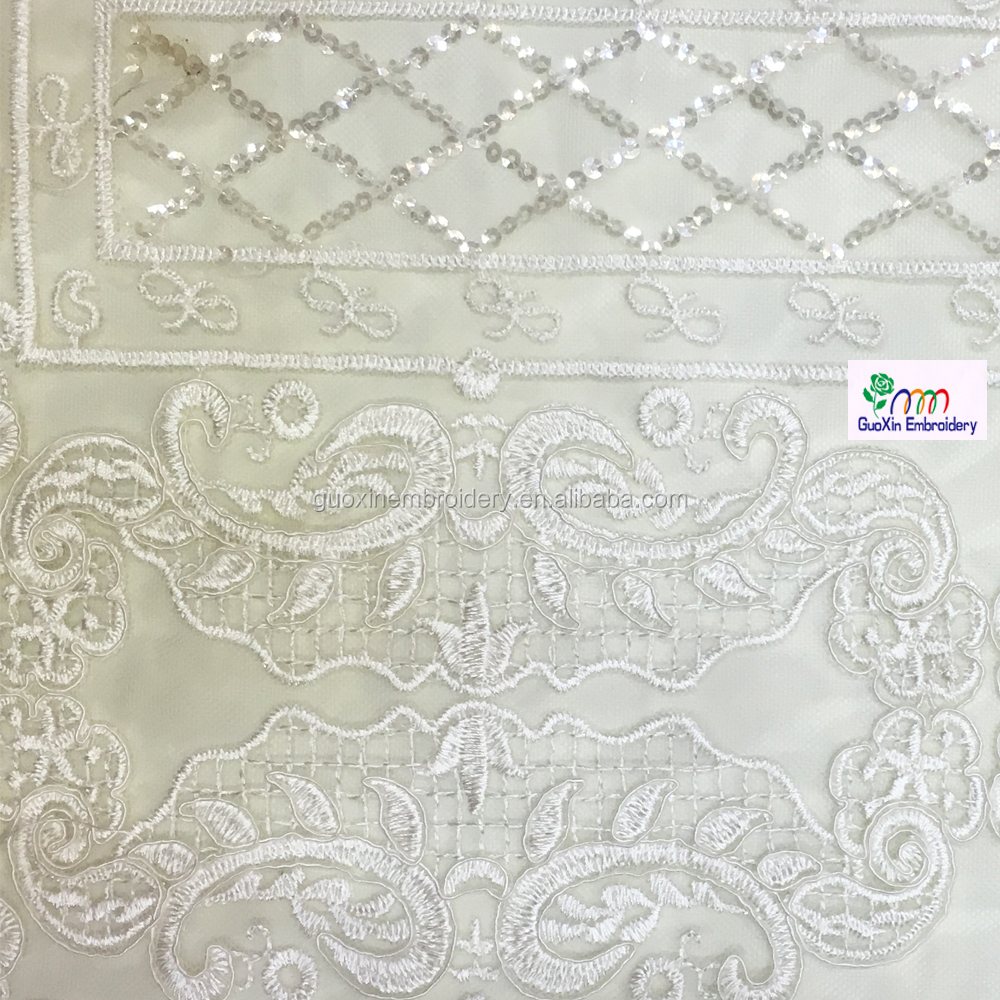 Wholesale embroidered net fabric online buy best
