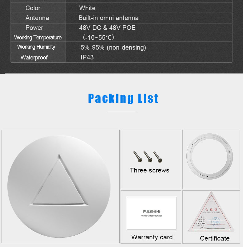 Best Selling network Products wireless 300mbps ceiling ap Openwrt