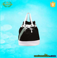 wholesale 600D polyester duffle bag/polyester bucket bag