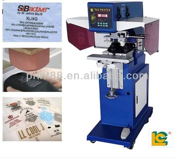 China hot sale T-SHIRT Tagless Pad Printing Machine