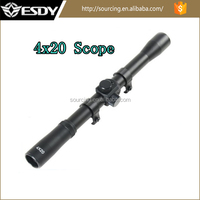 Cheap and high quality 4X20 military hot sale rifle scope