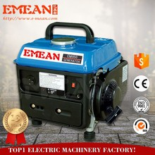 Good price 650w launtop gasoline generator lt950 with ISO Certificate