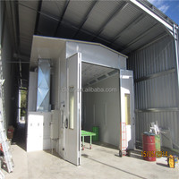 Industrial car bus truck furniture spray booth
