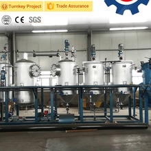 Factory price edible vegetable groundnut oil refinery plant