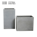 Wholesale rectangular molds lightweight large fiberglass planter