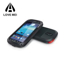 LOVE MEI Shockproof Aluminum Phone Case for Samsung Galaxy s4 Cell Phone Case
