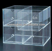 acrylic box/drawer segregation board with handle