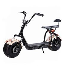 High Quality adult electric motorcycle 800W 1000W 1500W 60V 20ah seev citycoco