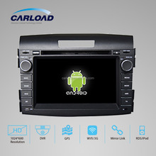 Android 4.4 car dvd for CRV 2012 WITH CHIPSET 1080P 8G ROM