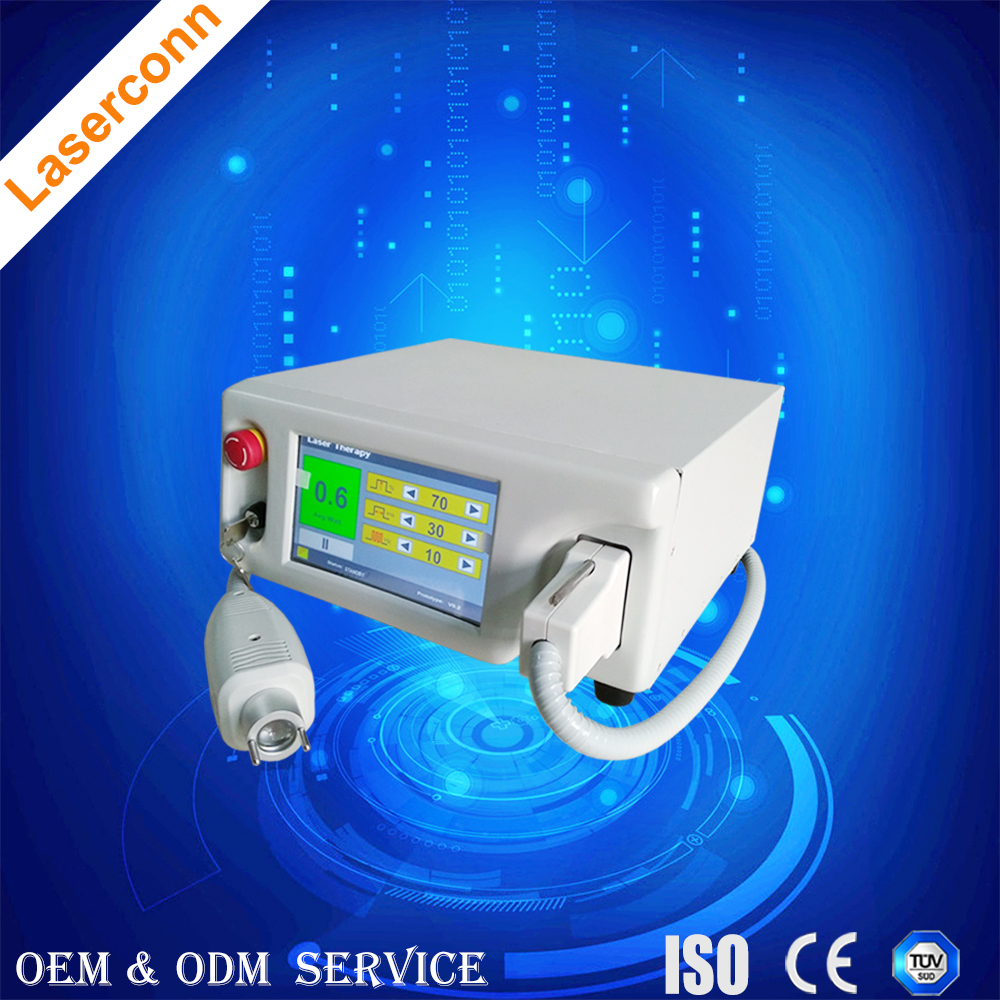 Knee Pain Relief cold Laser therapy and Electric vibration Knee Care physical therapy machine