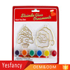 professional clear plastic suncatchers christmas suncatcher paint with brush