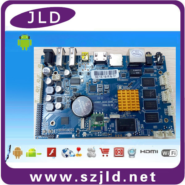 JLD007 amlogic M802 OEM Android PCB 2GB+8GB circuit board