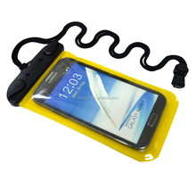Hot sale cheap ipx8 waterproof dry phone bag for iphone 8