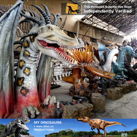 My Dino-Silicon rubber animatronic dragon for sale