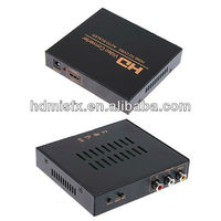 Composite TO HDMI Converter(S-Video/CVBS+R/L Audio to HD Signal output through the digital converter