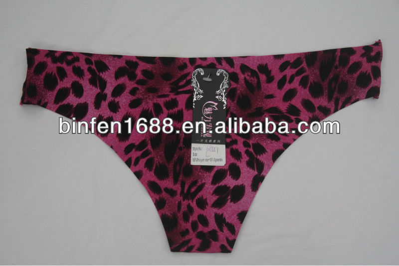 2014 Leopard Print Sexy Fancy Women Wearing G Strings