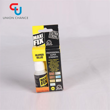 Color Box Packing Super Glue for Shoes