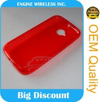 Wholesale Cute Design Ultra-thin Candy Color Handy TPU Texture Mobile Phone Case for Motorola Moto X Style/XT1575