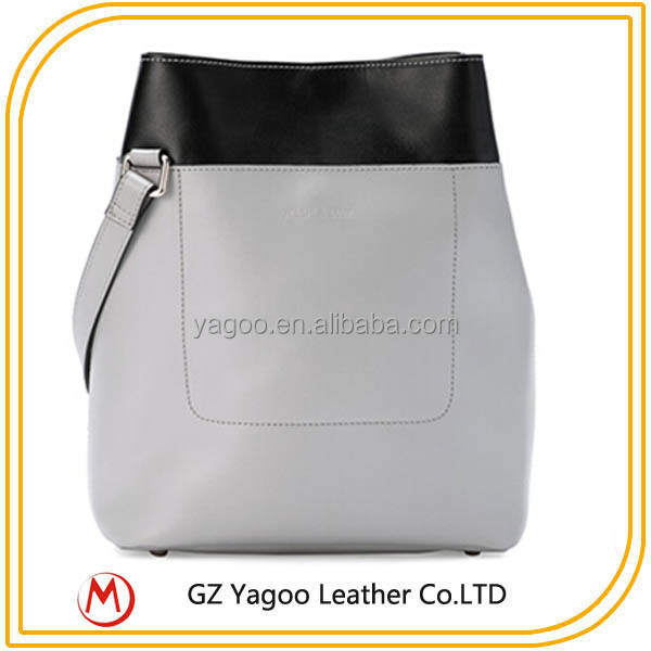 latest fashion design Europe and America style elegance leather lady handbag