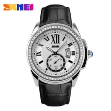 reloj skmei fashion women watch ladies watches gold quartz watches