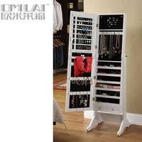 High Quality &Wooden Mirror Jewellery Armoire &Best New Product For 2013