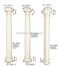 hot selling PU foam material decorative central hollow roman column factory