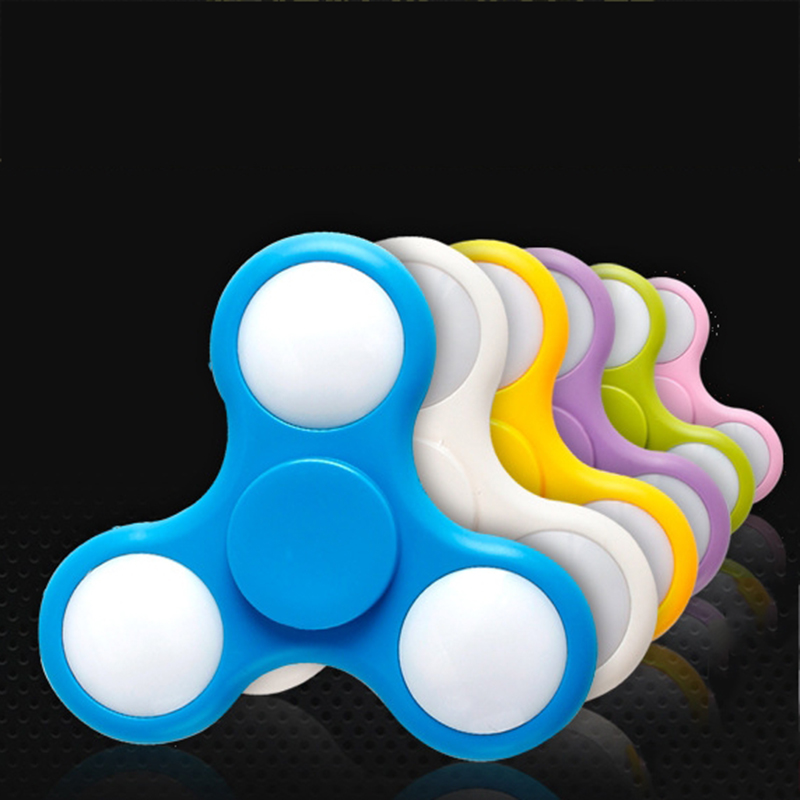 Customized LOGO Fidget Toys Hand LED Spinner with High Quality Bearing