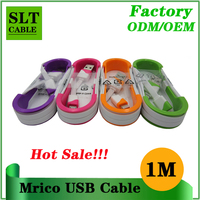 SLT hot sale micro usb data cable for Android mobile phones xiaomi samsung lenovo