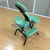 Portable massage chairs, foldable foot office massage stools black iron legs