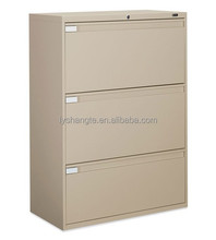 Strong powder coating wide iron filing cabinet with popular price
