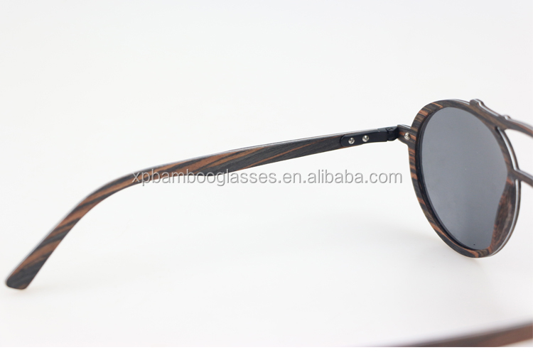 wholesale super thin custom logo branded wooden sunglasses with polarized lens