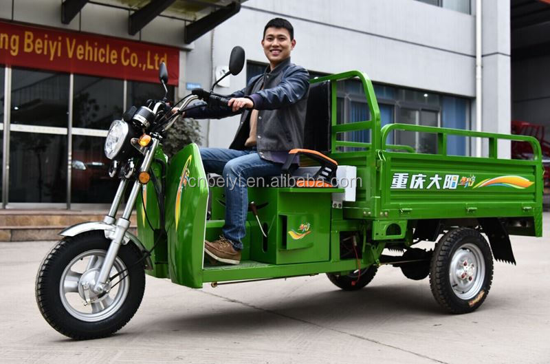 2016 factory price high quality 110cc cargo three wheel motorcycle Made in Chongqing Gasoline Cargo Tricycles for High Demand