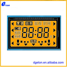 LCD screen for electric cooker