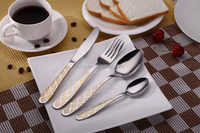 P 020 18 / 10 or 18 / 0 tableware/kitchenware/flatware/dinnerware stainless steel gold plated tea spoons