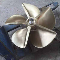 Five Blade High Speed Boat Copper Alloy Fixed Pitch 33 Inches Propeller