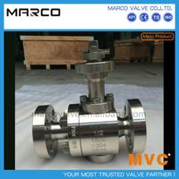 Professional supply anti static ad blow-out low to high pressure API6FA API607 fire safe approved ball valve
