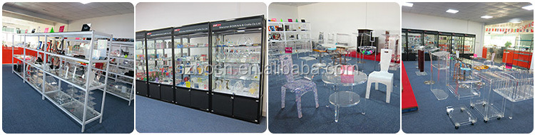 Sliding Door Acrylic Case With Shelves & Lock, Cheap