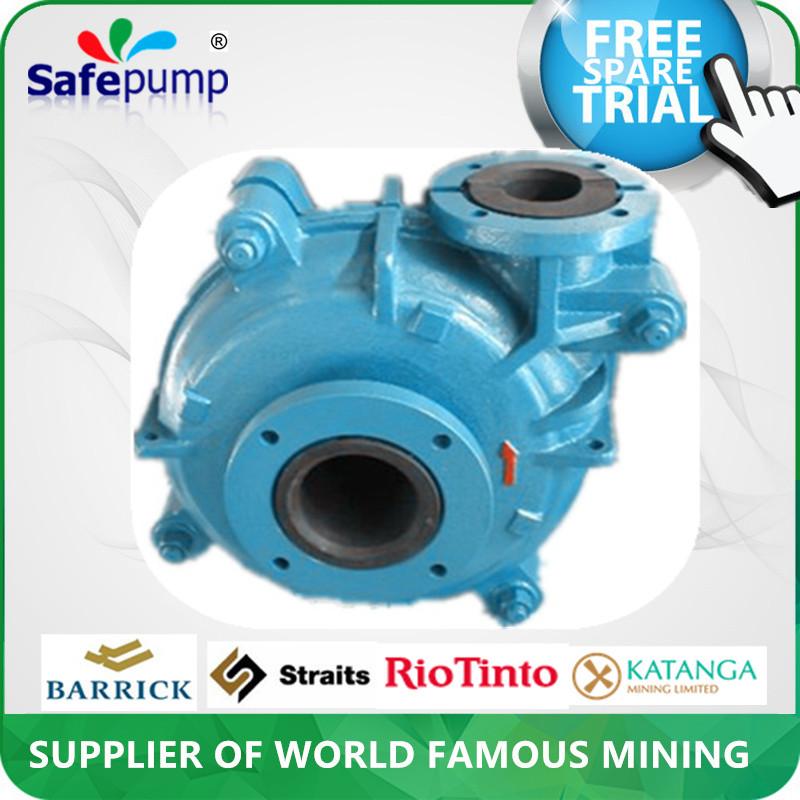 Factory sale centrifugal mini slurry pump